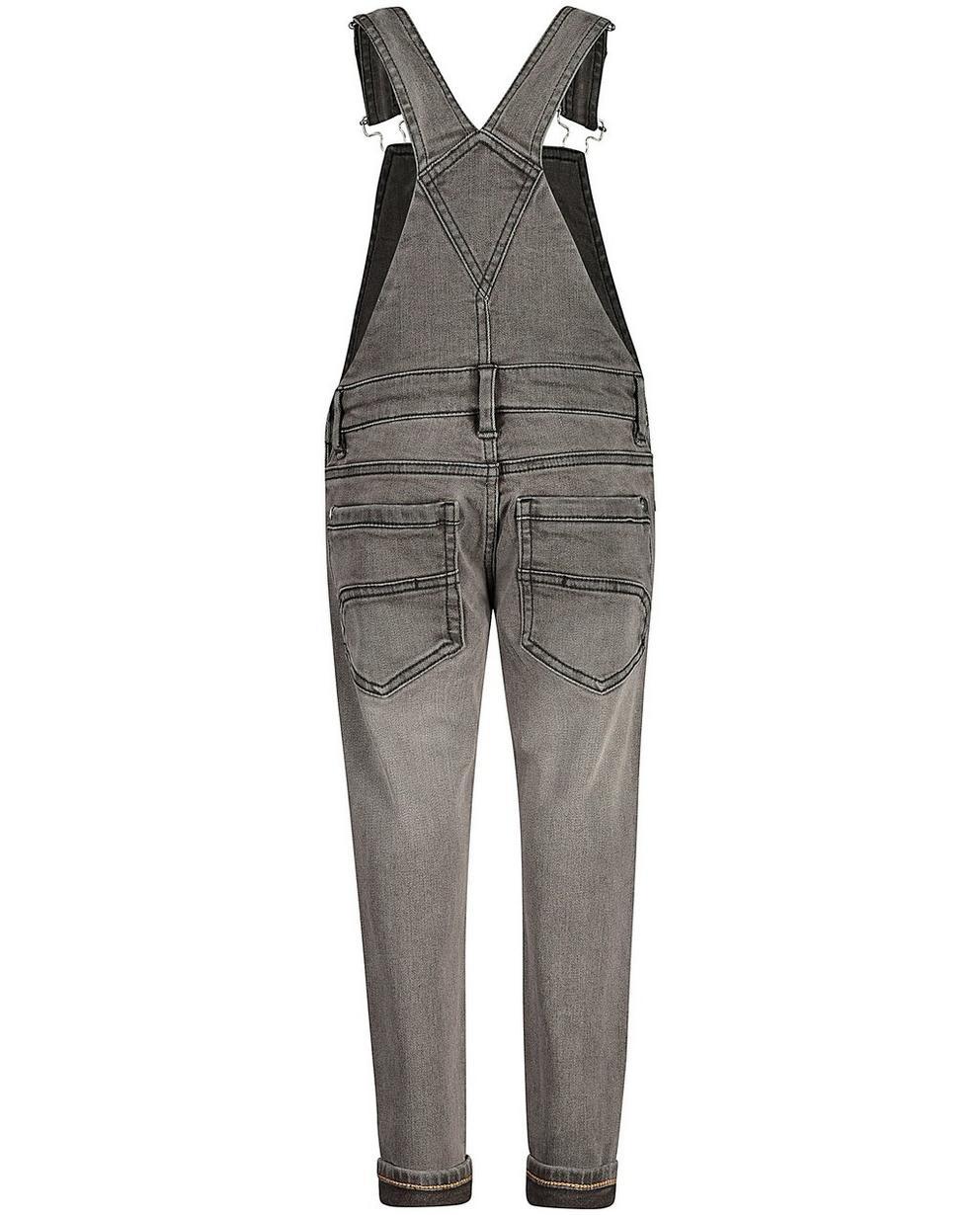 Jeans - Grau - Grijze salopette